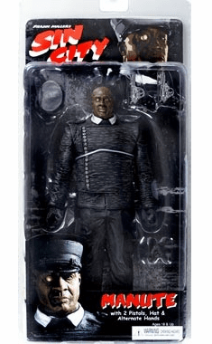 NECA Sin City Manute Action Figure