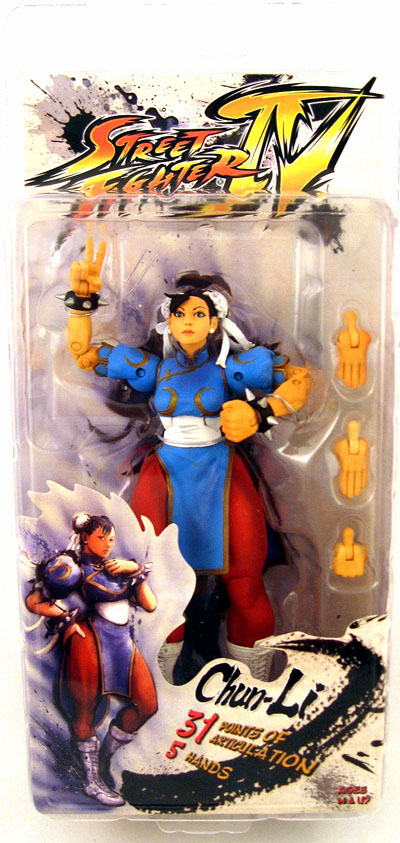 NECA Street Fighter IV Chun-Li Action Figure