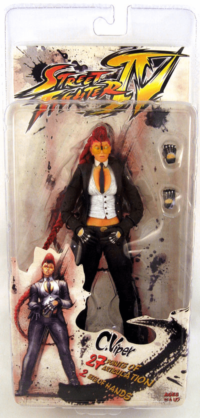 NECA Street Fighter IV Crimson Viper Action Figure