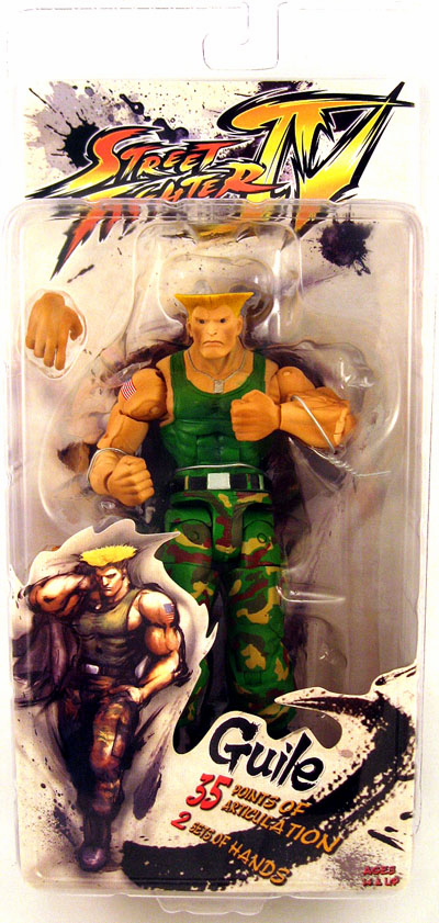 NECA Street Fighter IV Guile Action Figure