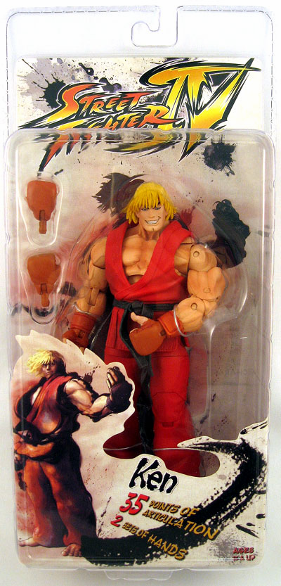 NECA Street Fighter IV Ken Action Figure