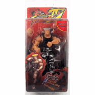 NECA Street Fighter IV Survival Mode Guile Figure
