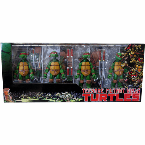 NECA Teenage Mutant Ninja Turtles Figure Set