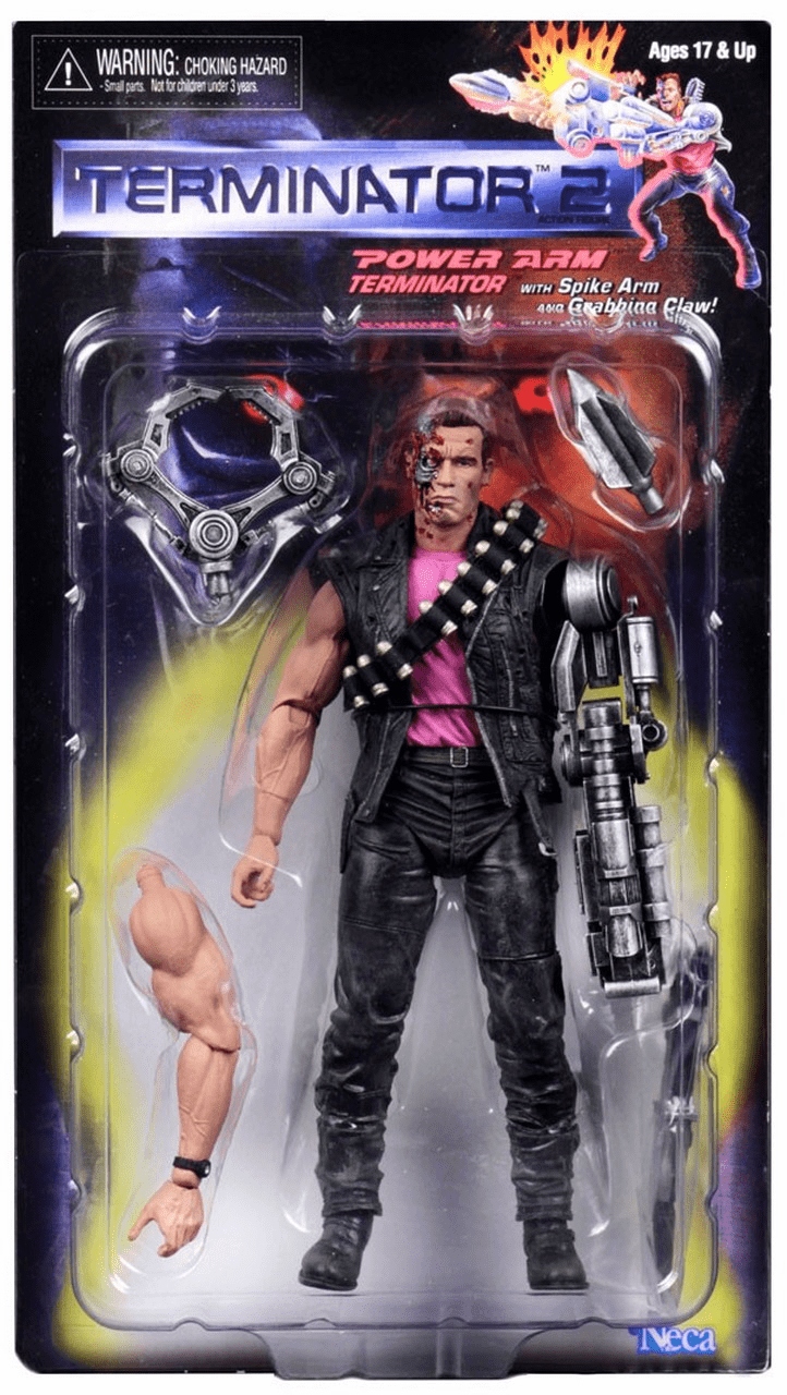 NECA Terminator 2 Power Arm T-800 Figure