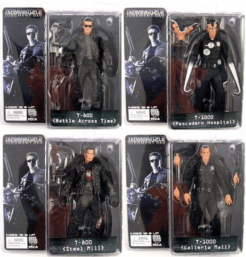 NECA Terminator 2 Series 3 Action Figure Set