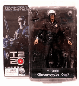 NECA Terminator 2 T-1000 Motorcycle Cop Action Figure