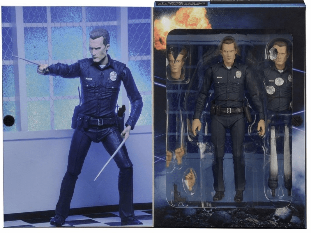 NECA Terminator 2 T-1000 Ultimate Figure