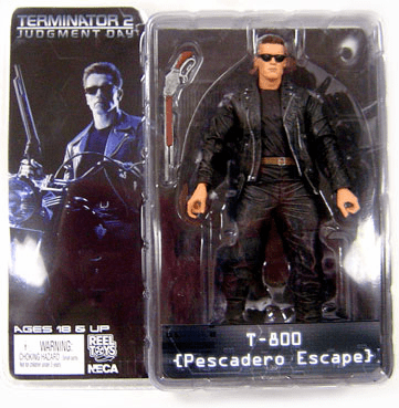 NECA Terminator 2 T-800 Pescadero Escape Action Figure