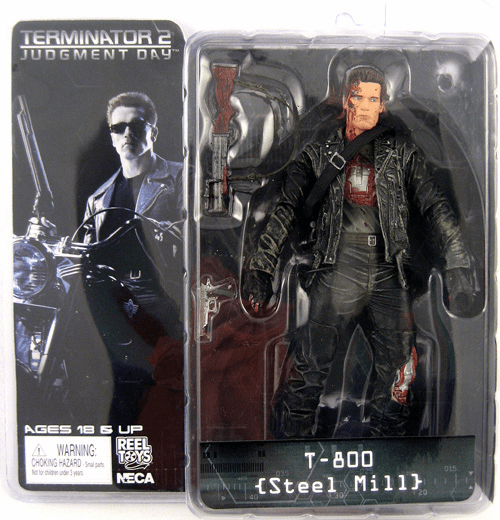 NECA Terminator 2 T-800 Steel Mill Action Figure