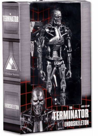 NECA Terminator T-800 Endoskeleton Action Figure