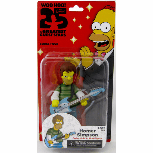 NECA The Simpsons 25th Anniversary Grunge Homer Figure