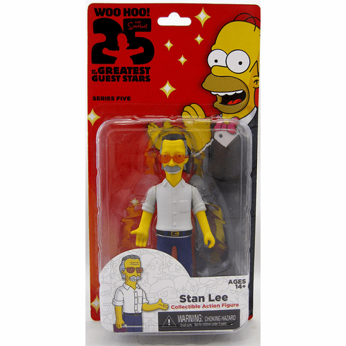 NECA The Simpsons 25th Anniversary Stan Lee Figure