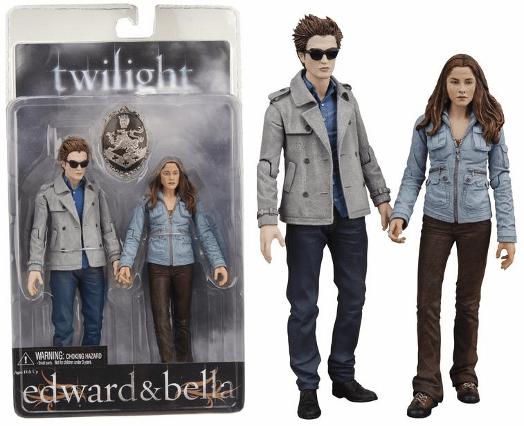 NECA Twilight Edward & Bella 2-pack Action Figures