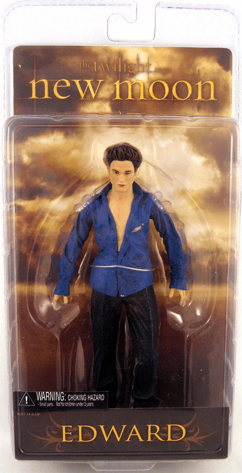 NECA Twilight New Moon Series 2 Edward Action Figure