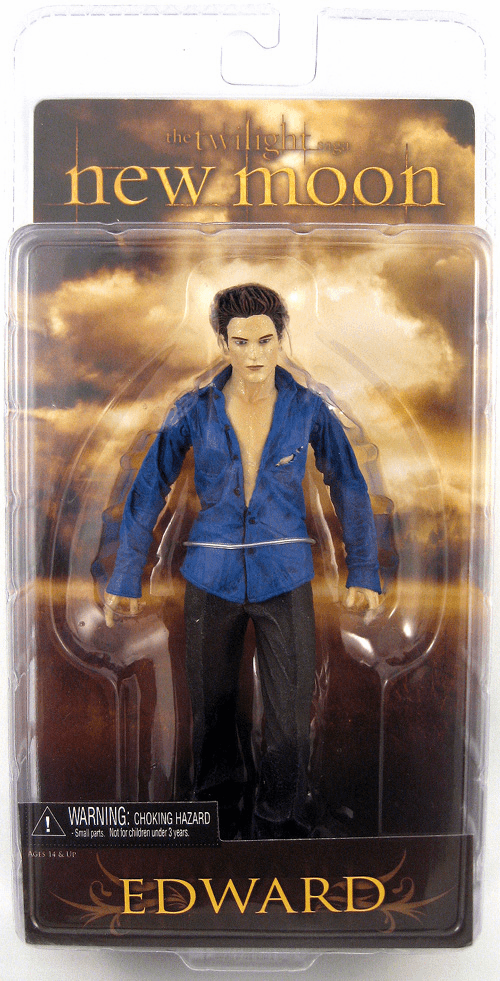 NECA Twilight New Moon Series 2 Sparkle Edward Action Figure