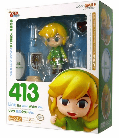 Nendoroid Legend of Zelda Wind Waker Link Figure