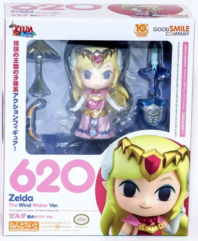 Nendoroid Legend of Zelda Wind Waker Zelda Figure