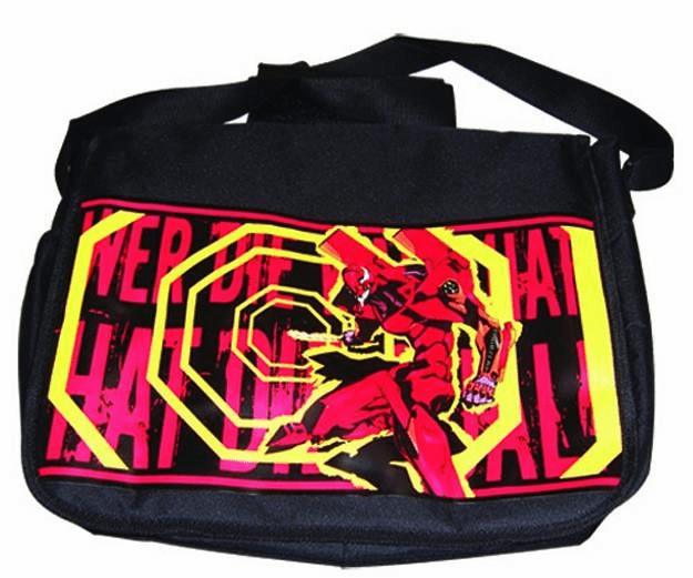 Neon Genesis Evangelion EVA Unit 02 AT Field Messenger Bag