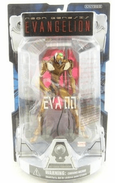 NGE EVA-00 Yellow Launch Tube Package Action Figure