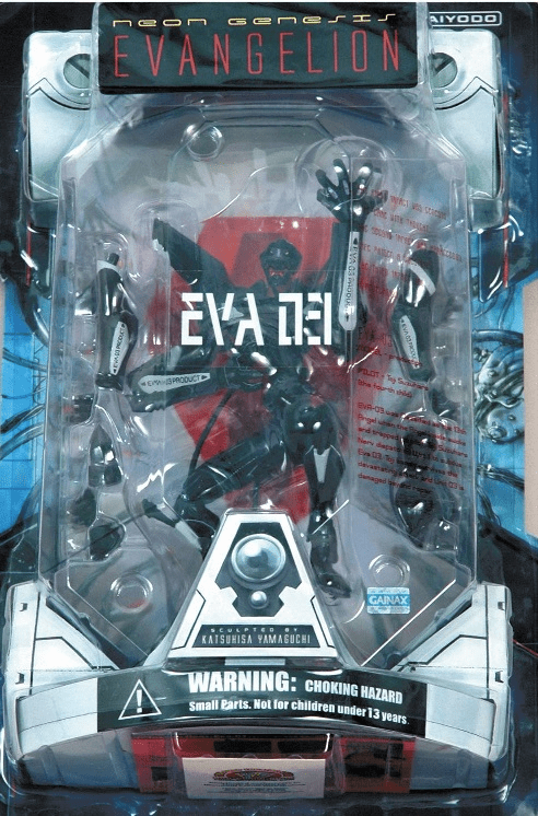 NGE EVA-03 Black Launch Tube Package Action Figure