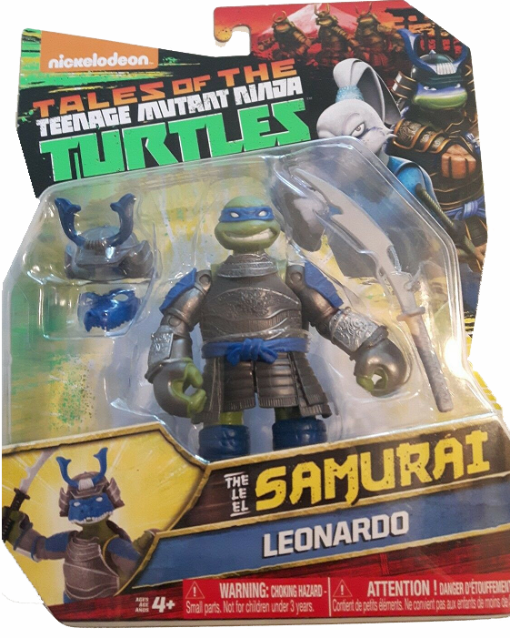 Nickelodeon Teenage Mutant Ninja Turtles Samurai Leonardo Figure