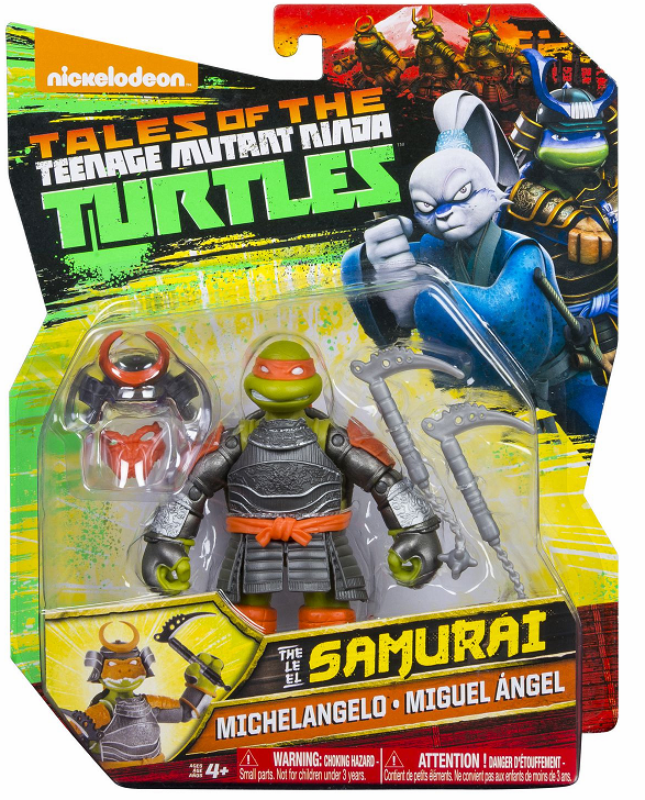 Nickelodeon Teenage Mutant Ninja Turtles Samurai Michelangelo Figure