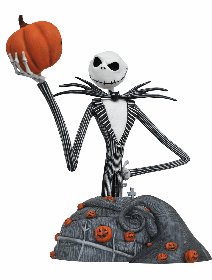 Nightmare Before Christmas Jack Skellington Resin Bust
