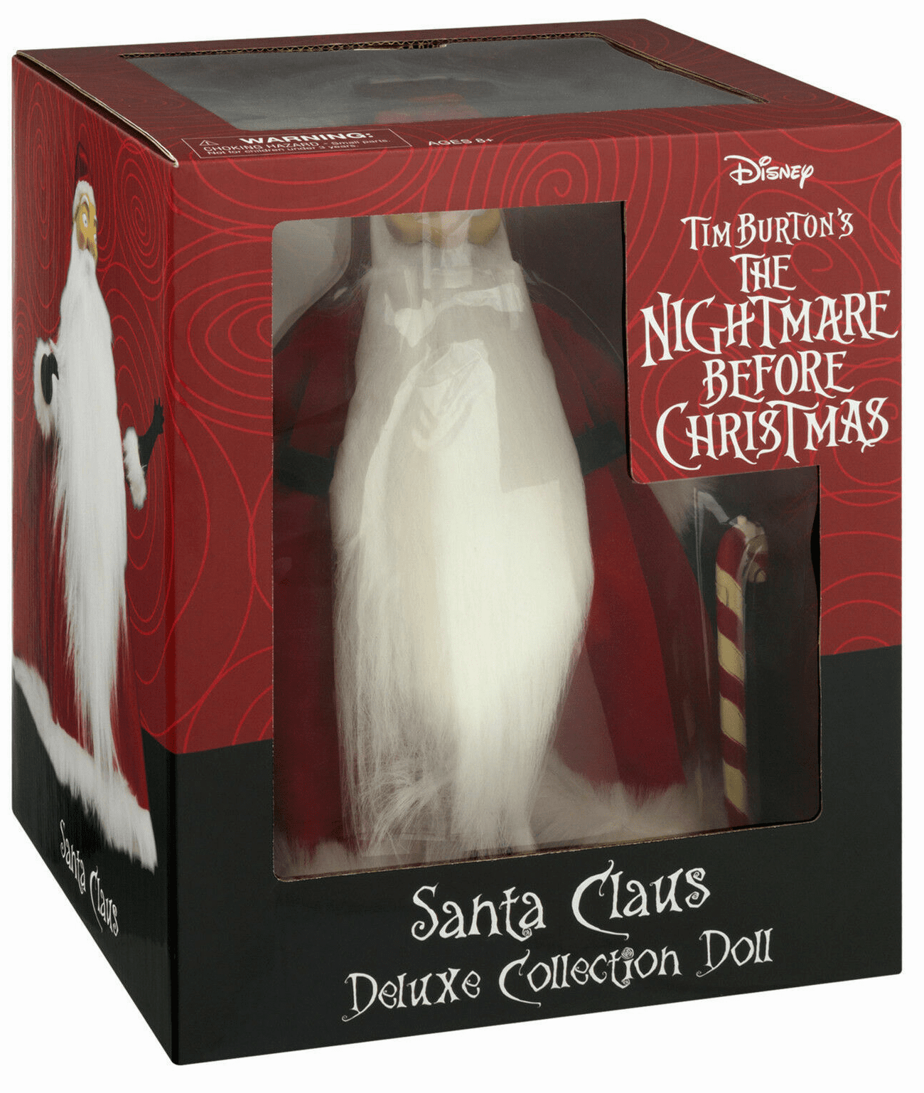 Nightmare Before Christmas Santa Claus Deluxe Doll