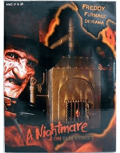 Nightmare On Elm Street Freddy Furnace Diorama
