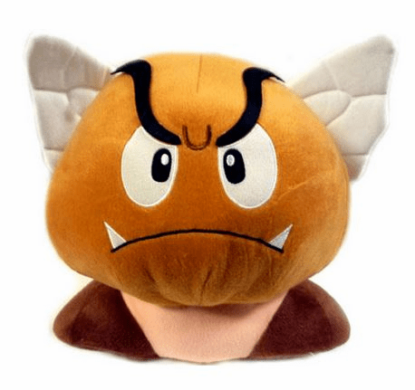 Nintendo Super Mario Bros. Winged Goomba Plush
