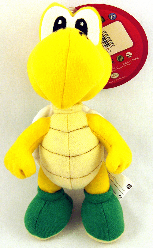 Nintendo Super Mario Brothers Koopa Plush Toy