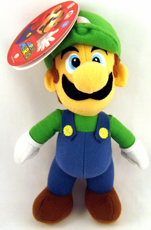 Nintendo Super Mario Brothers Luigi Plush Toy
