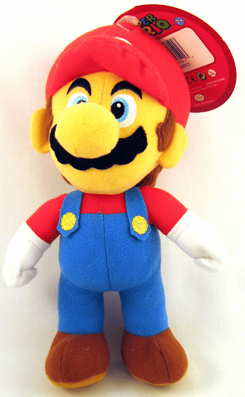 Nintendo Super Mario Brothers Mario Plush Toy
