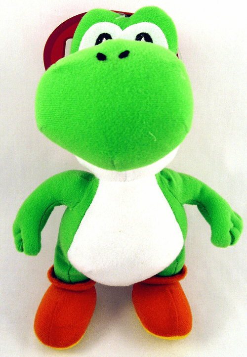 Nintendo Super Mario Brothers Yoshi Plush Toy