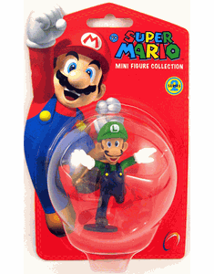 Nintendo Super Mario Mini Luigi Figure