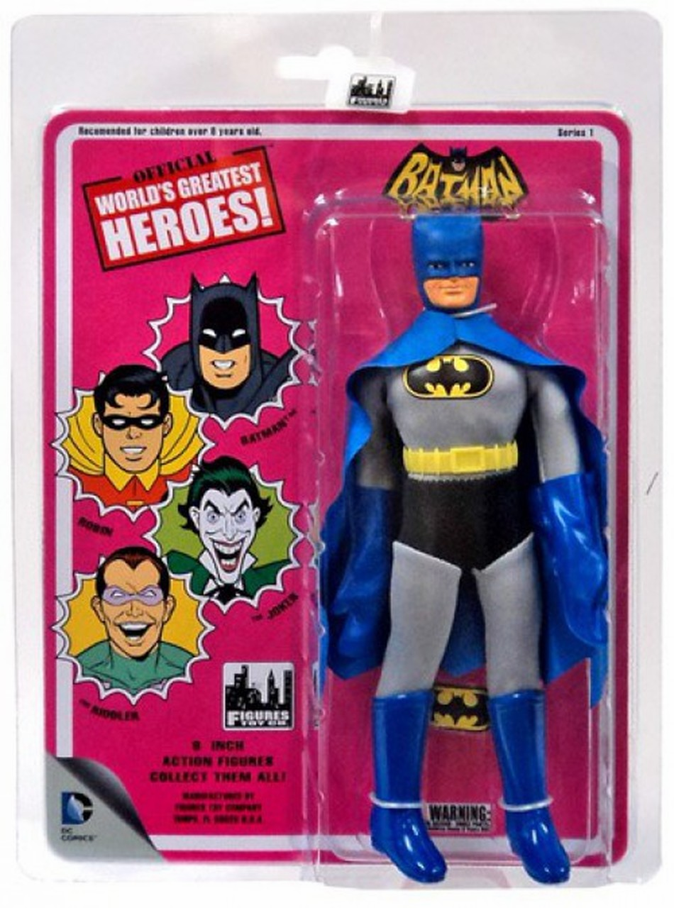 Official World's Greatest Heroes Batman Figure