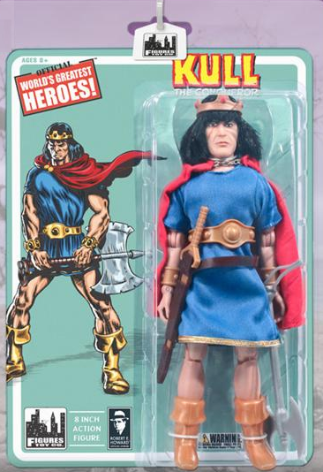 Official World's Greatest Heroes Kull The Conqueror Figure