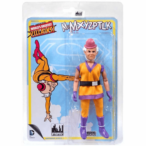Official World's Greatest Heroes Mr. Mxyzptlk Figure