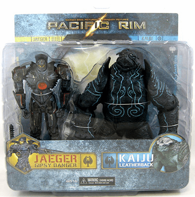 Pacific Rim Battle-Damaged Gipsy Danger and Leatherback 2-Pack Set