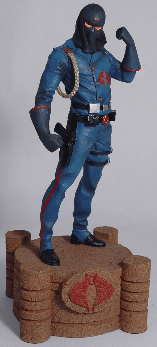 Palisades G.I. Joe Cobra Commander Statue