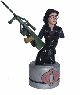 Palisades GI Joe Baroness Resin Mini Bust