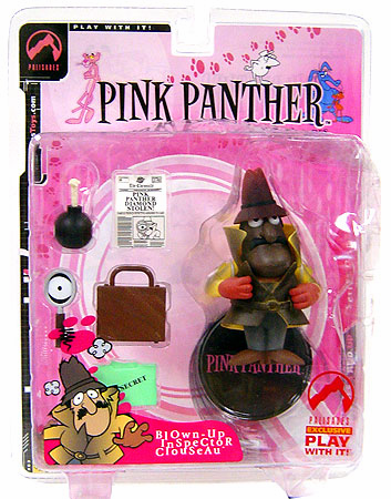 Palisades Pink Panther Blown-Up Inspector Clouseau Figure