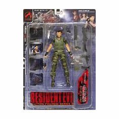 Palisades Resident Evil Chris Redfield Action Figure