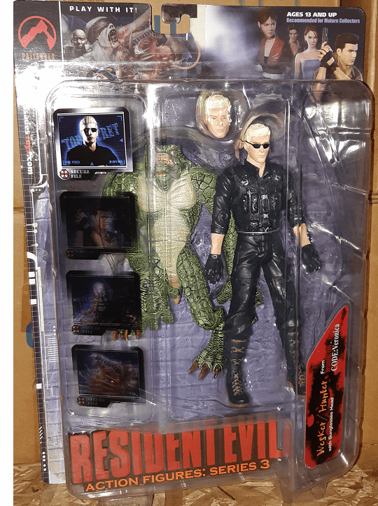 Palisades Resident Evil Wesker & Hunter Action Figure