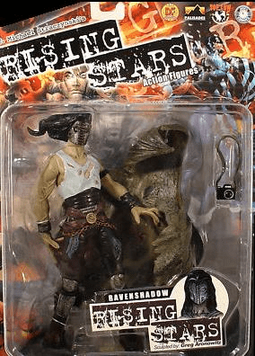 Palisades Rising Stars RavenShadow Action Figure