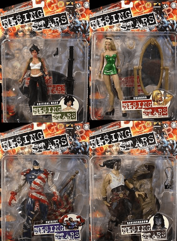 Palisades Rising Stars Series 1 Action Figure Set