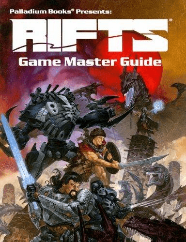 Palladium Rifts Game Master Guide RPG Book