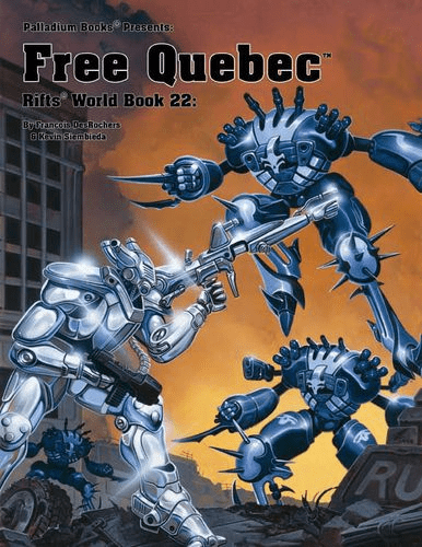 Palladium Rifts World Book 22 Free Quebec RPG Book