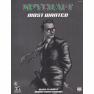 Paradigm Concepts, Inc. Spycraft Most Wanted RPG Book