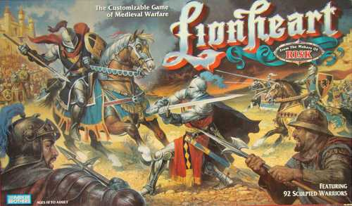 Parker Brothers Lionheart Board Game